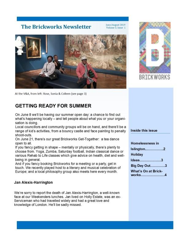 Brickworks newletter edition 5