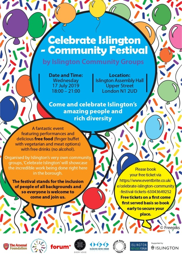 Celebrate_Islington-Community_Festival 17th_July 2019_Flyer_page-0001 (1)