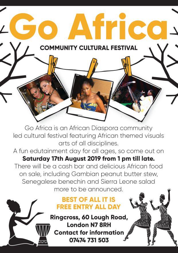 Go Africa 2019 1st flyer