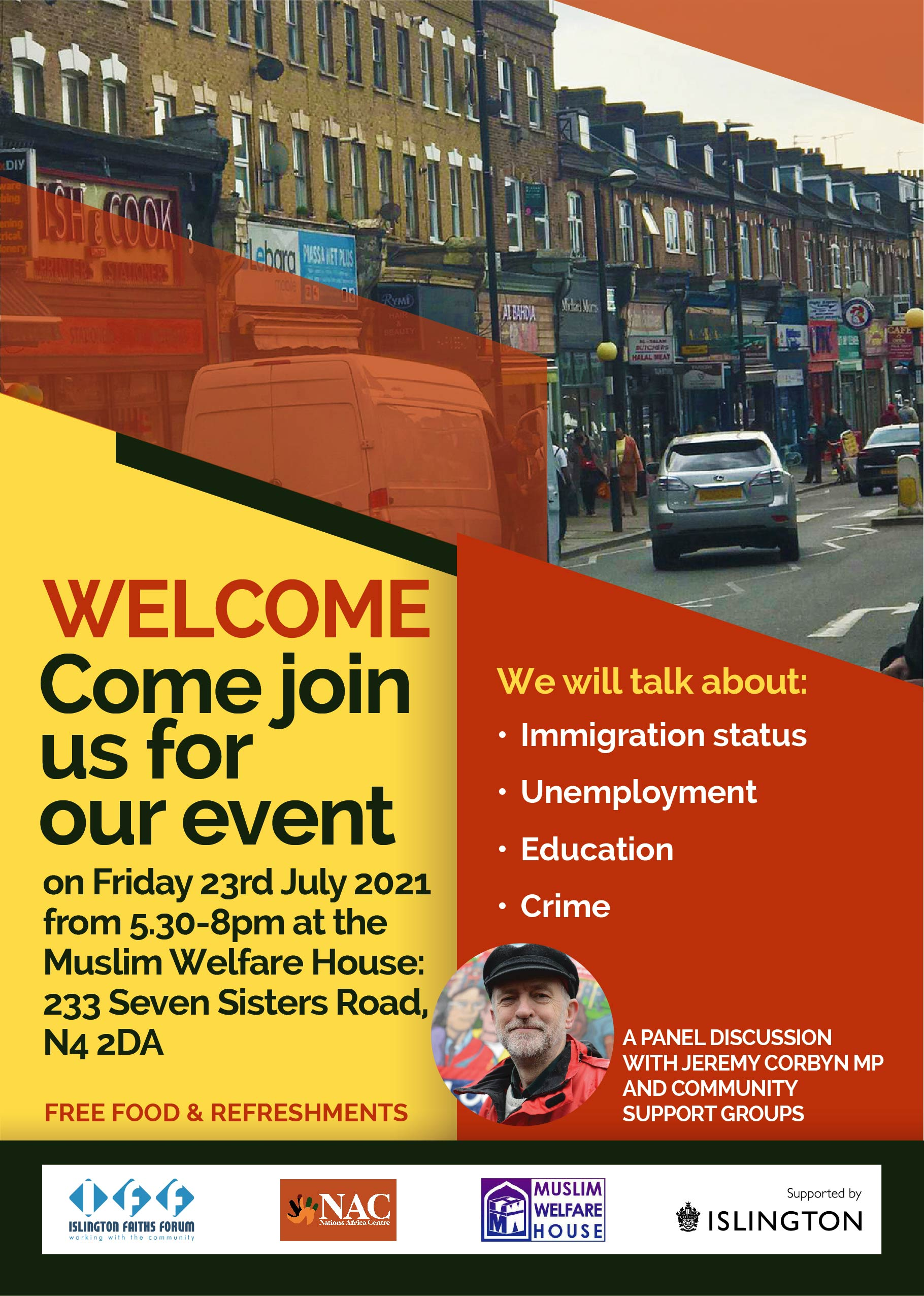 BSR Community Event_Flyer_for 23 July 2021