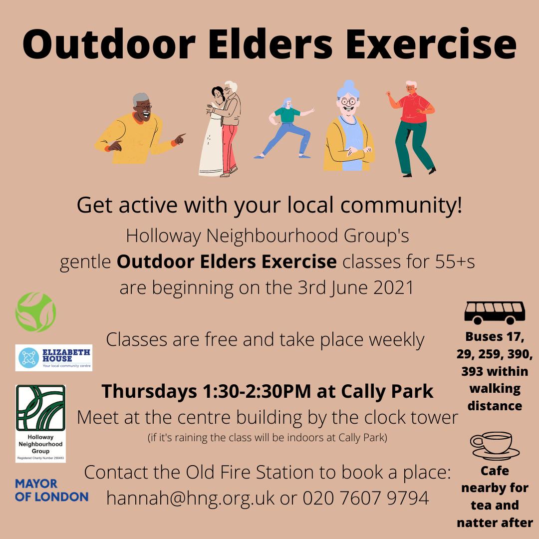 Outdoor Elders Exercise 2021